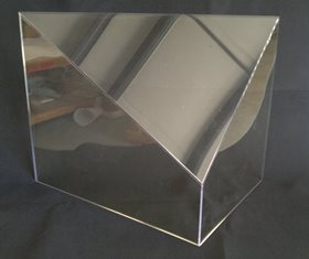 Acrylic Cover With Sloped Top
